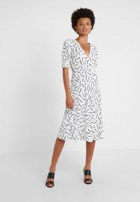 Diane von Furstenberg - JEMMA - Korte jurk - white - 0