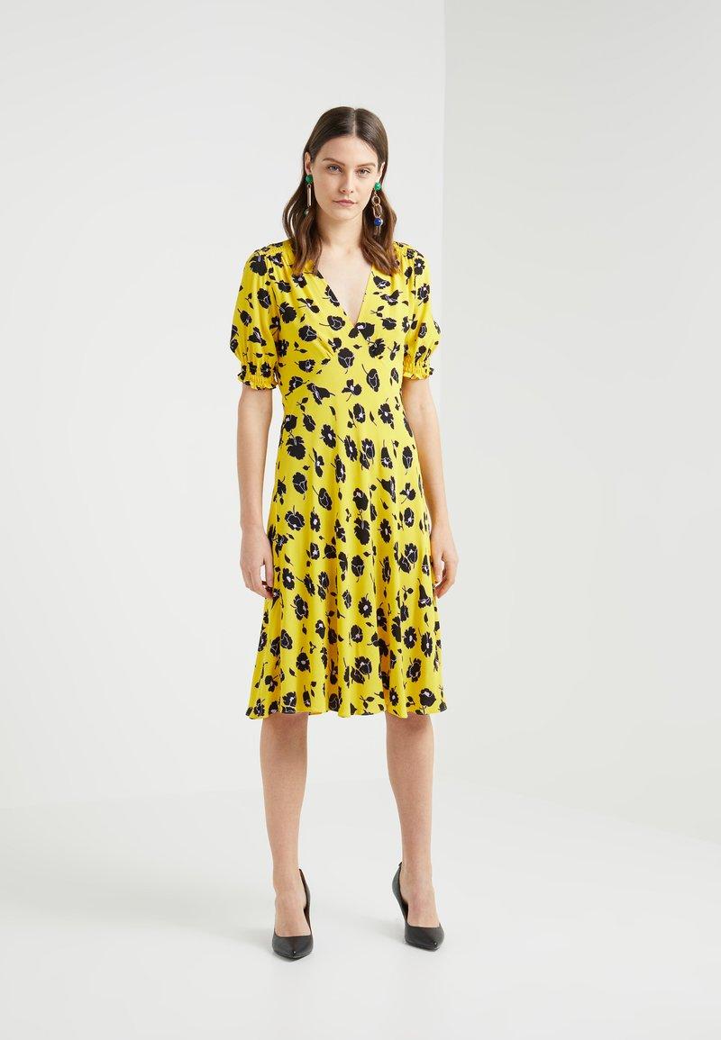 Diane von Furstenberg - JEMMA - Day dress - goldenrod