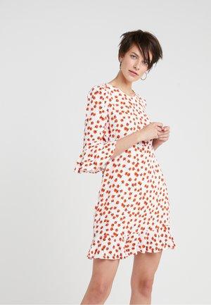ELLY TWO - Korte jurk - berry/ivory
