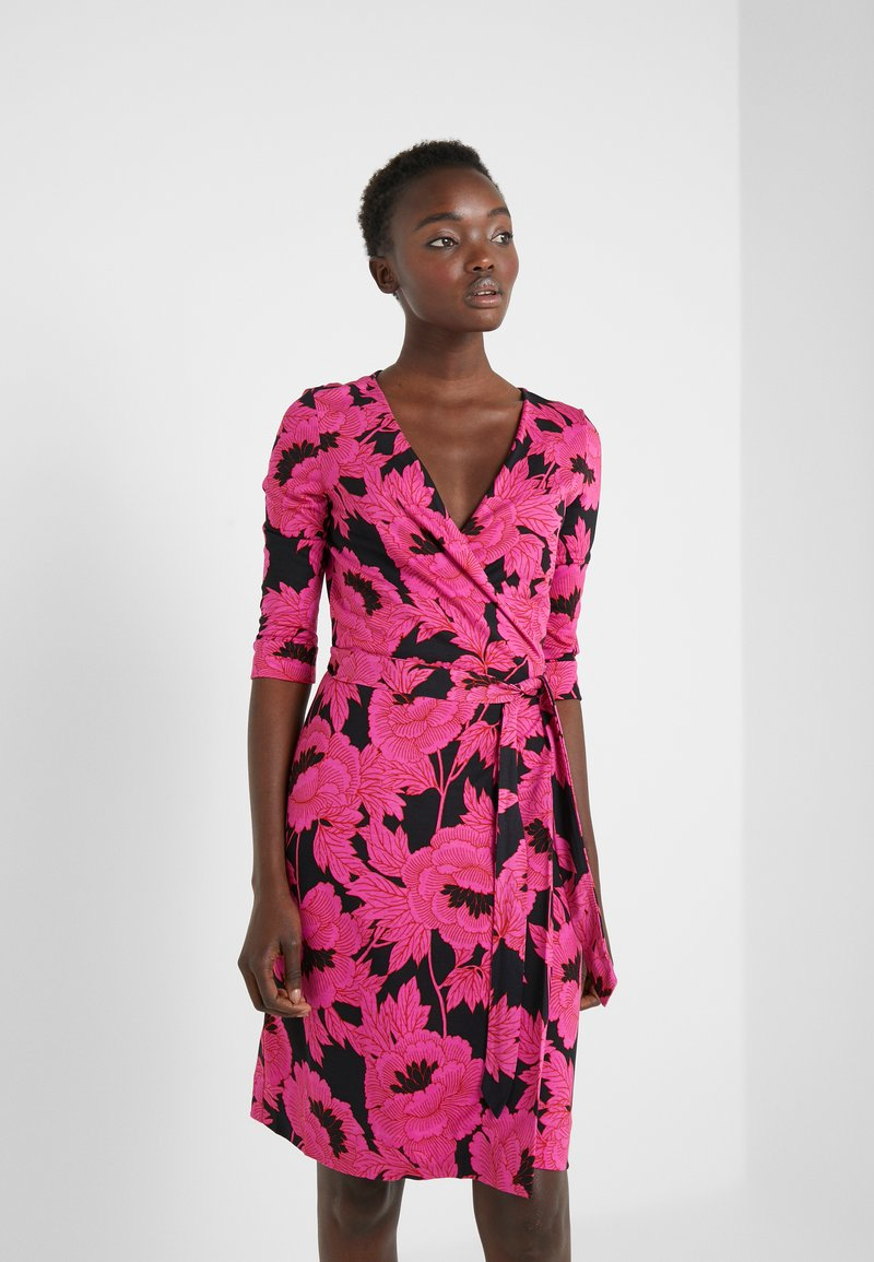 Diane von Furstenberg - NEW JULIAN TWO - Etui-jurk - camellias black
