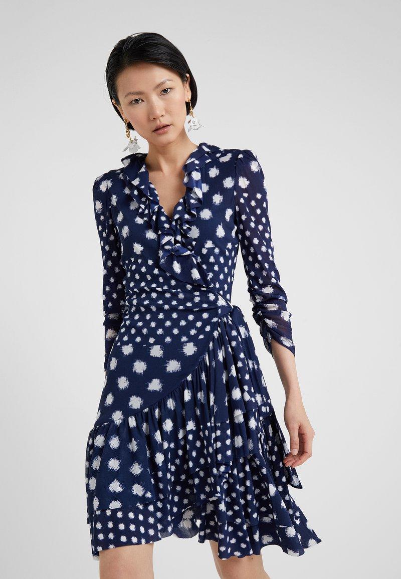 Diane von Furstenberg - PALOMA - Jerseykleid - batik new navy