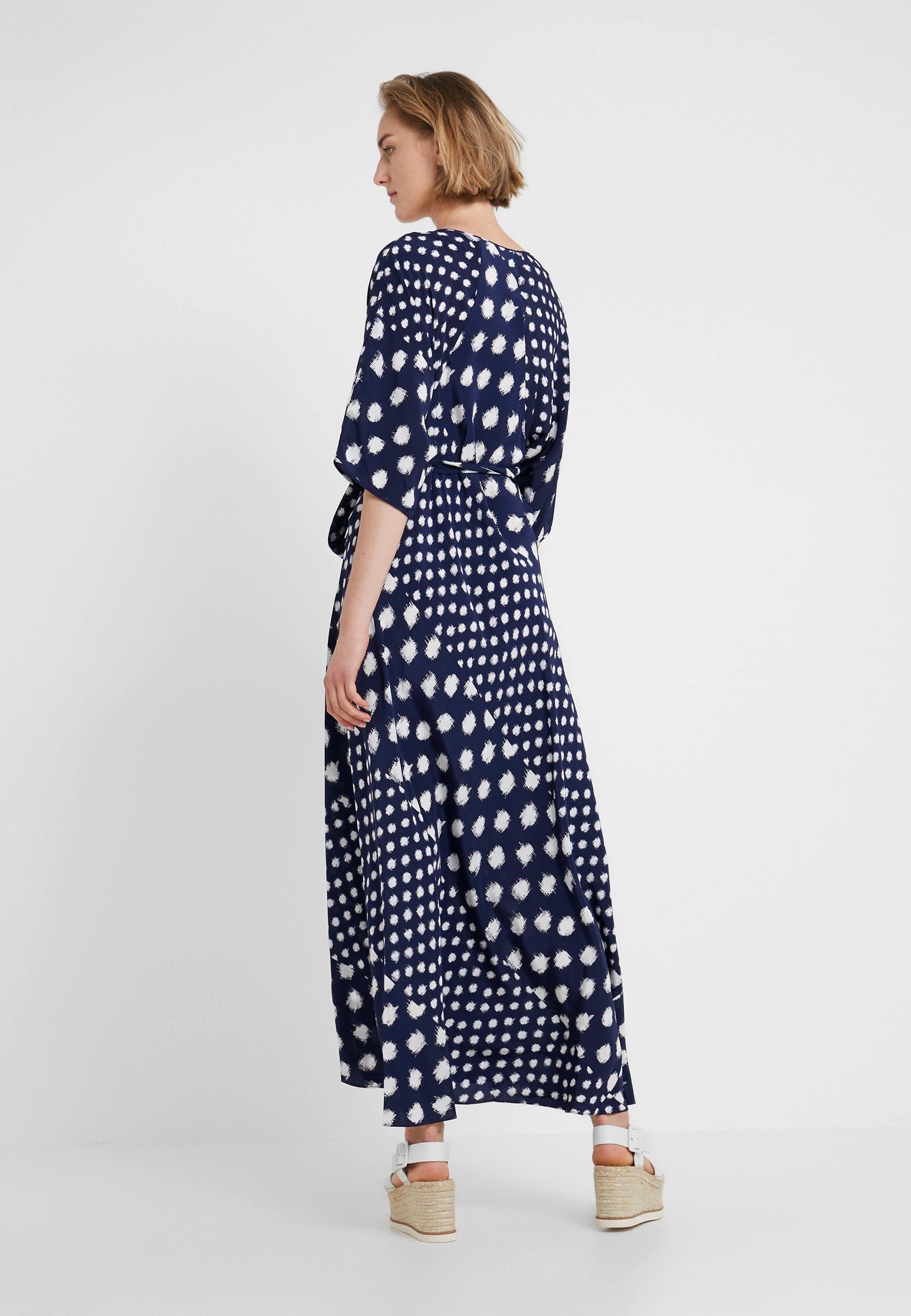 Batik New Von EloiseRobe Navy Diane Longue Furstenberg AqRL354j