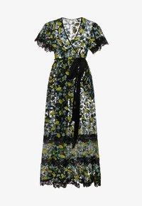 Diane von Furstenberg - VICTORIOUS - Robe de cocktail - black/yellow - 4