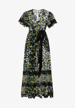 VICTORIOUS - Společenské šaty - black/yellow
