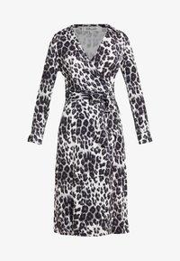 Diane von Furstenberg - ROSS - Korte jurk - heritage snow cheetah grey - 3