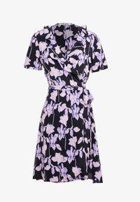 Diane von Furstenberg - SAVILLA - Korte jurk - midnight forest black - 4