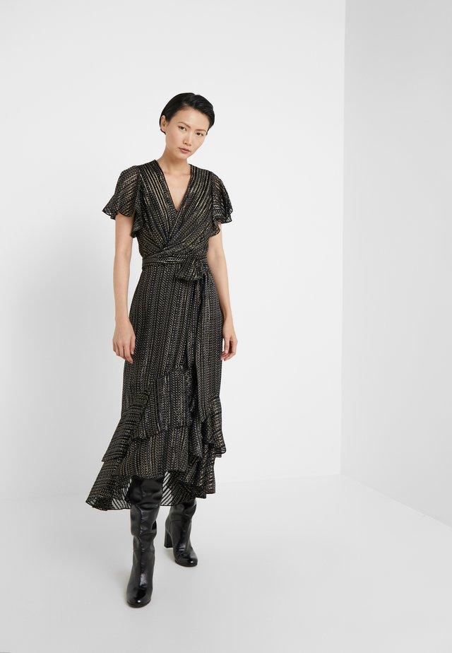 DONNIE - Festklänning - black/gold