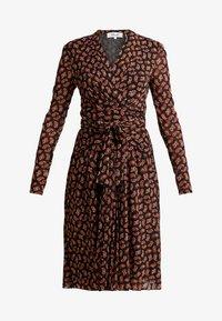 Diane von Furstenberg - BRENDA - Vapaa-ajan mekko - black - 4