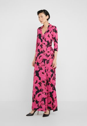 ABIGAIL - Maxi-jurk - camellias black