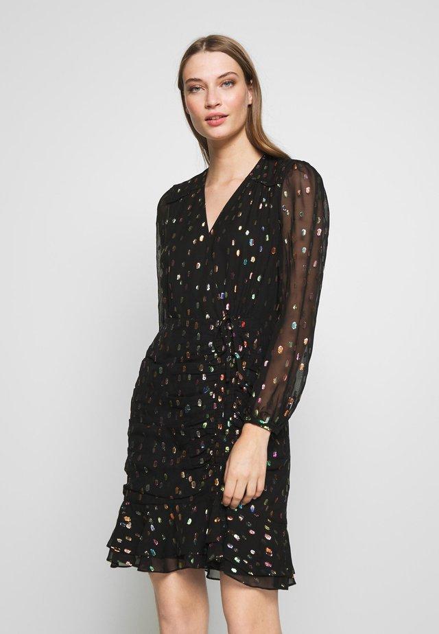 BEA - Cocktailklänning - black/multi-coloured