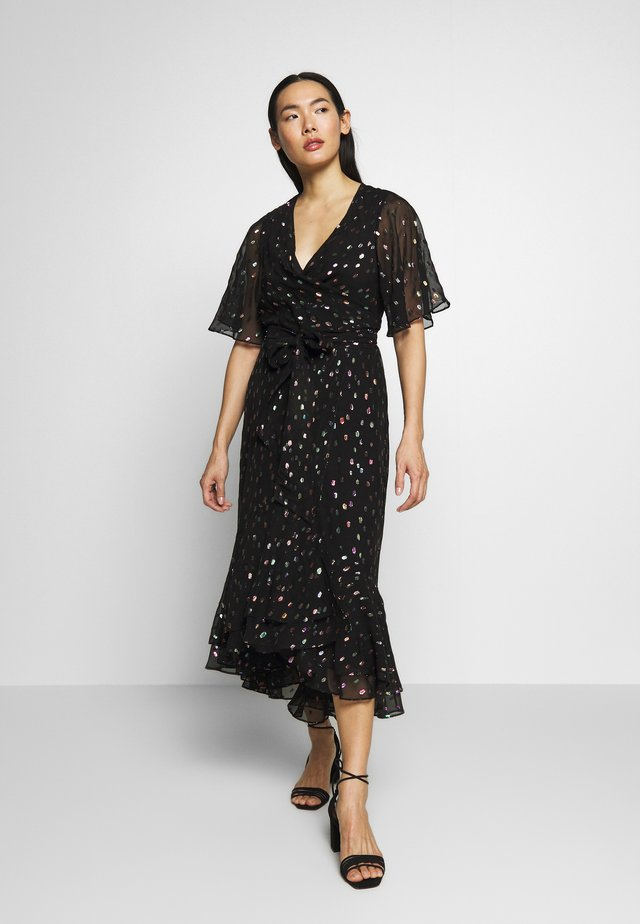 BERDINA - Day dress - black/multi