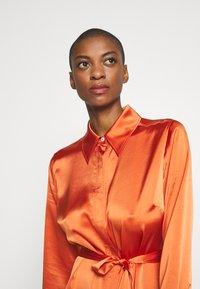 Diane von Furstenberg - ZELLO - Shirt dress - burnt orange - 3