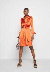 Diane von Furstenberg - ZELLO - Shirt dress - burnt orange - 1