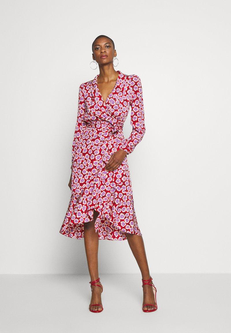 Diane von Furstenberg - CARLA TWO - Korte jurk - daisies poinsettia