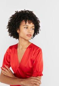 Diane von Furstenberg - AVIANNA DRESS - Společenské šaty - red - 3