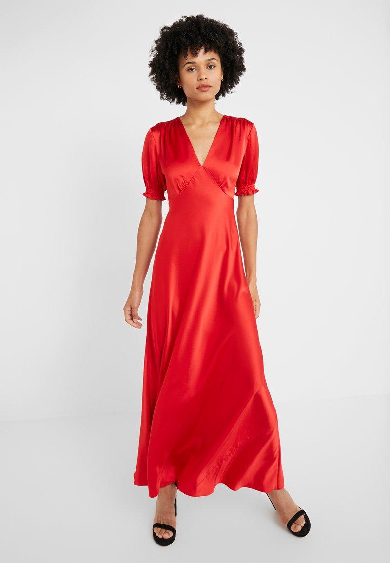 Diane von Furstenberg - AVIANNA DRESS - Společenské šaty - red