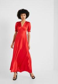 Diane von Furstenberg - AVIANNA DRESS - Společenské šaty - red - 1