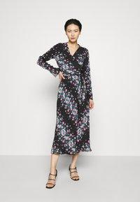 Diane von Furstenberg - TILLY - Day dress - lilac/black - 0