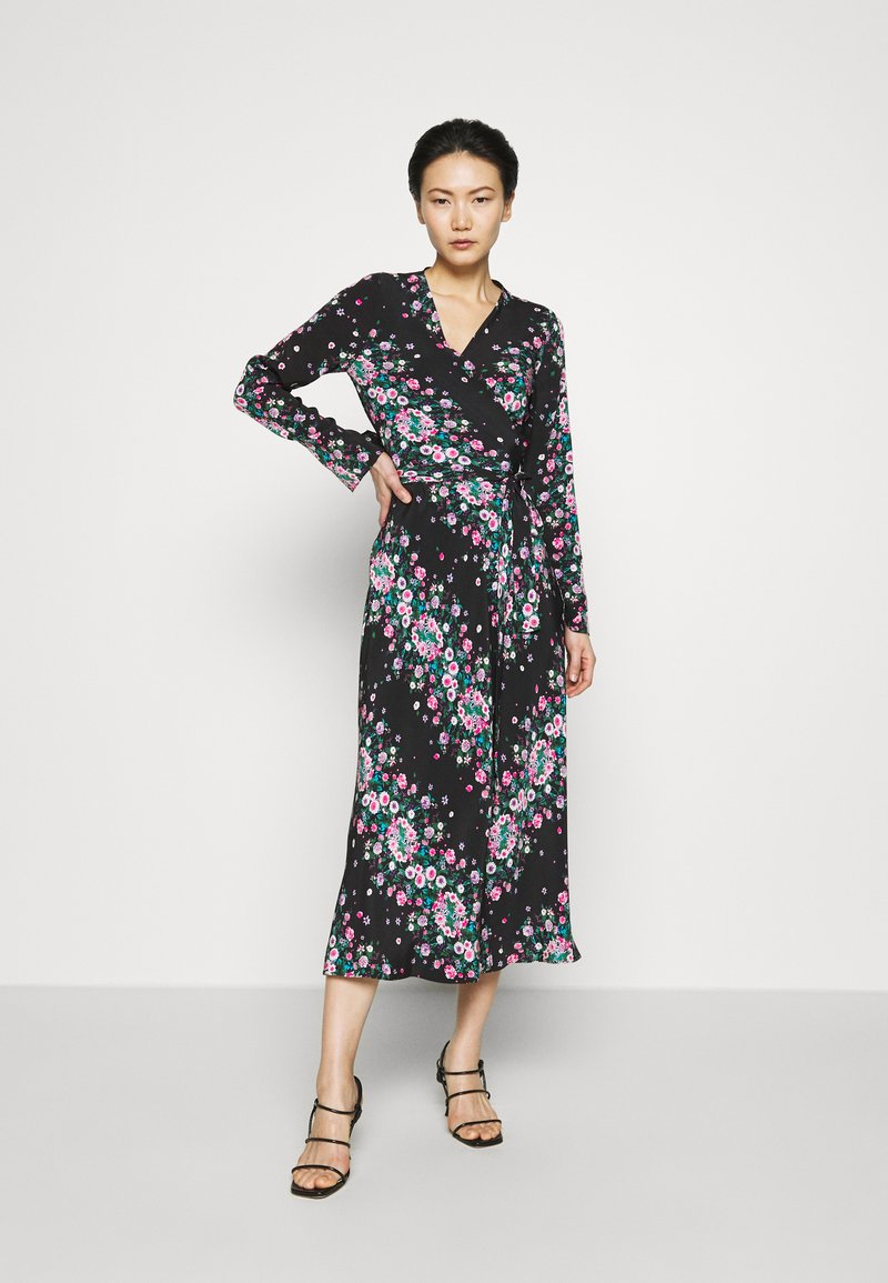 Diane von Furstenberg - TILLY - Day dress - lilac/black
