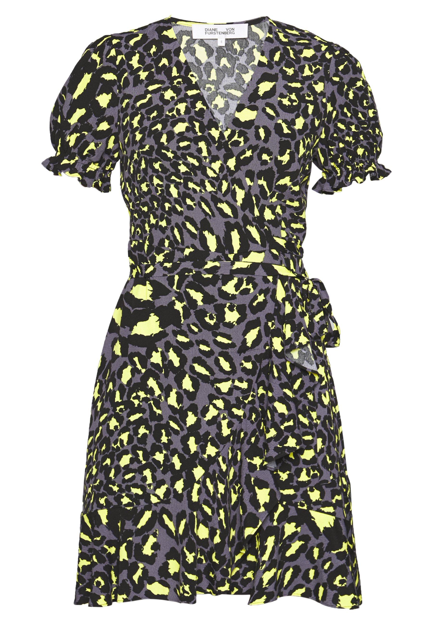 Diane Von Furstenberg Emilia - Day Dress Multi-coloured/black