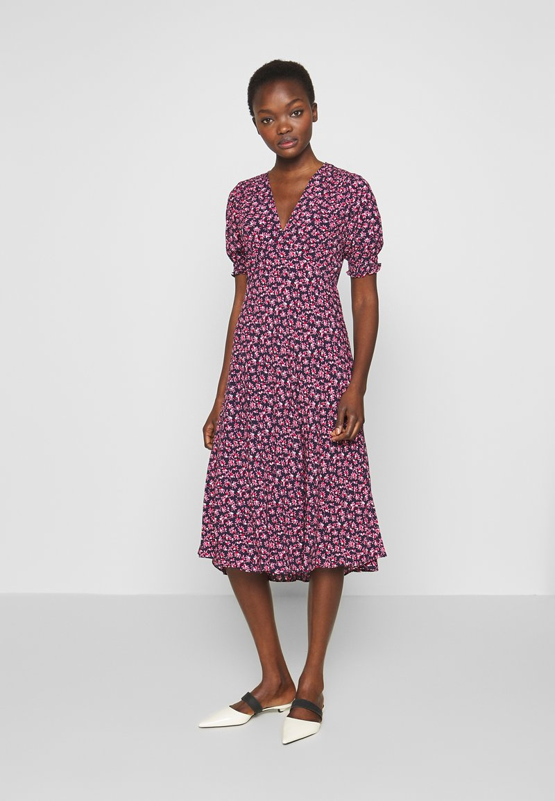 Diane von Furstenberg - IDRIS - Denní šaty - vines petal