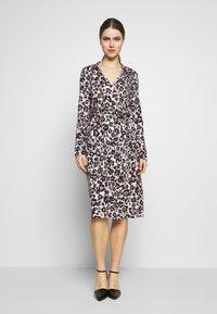 Diane von Furstenberg - Jersey dress - eggshell - 0