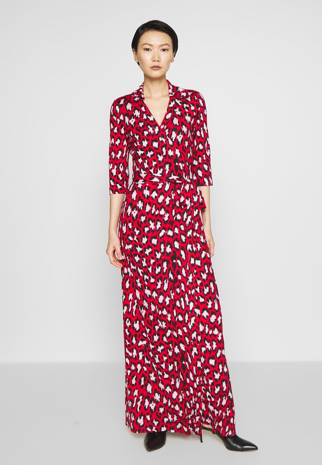 ABIGAIL - Vestido largo - red