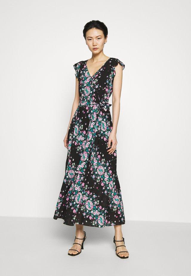 ISLA - Korte jurk - lilac/black