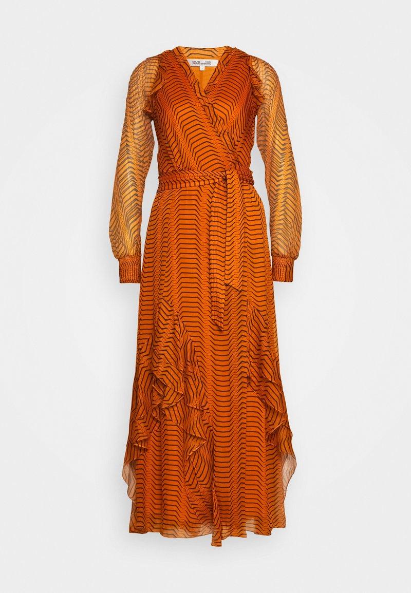 Diane von Furstenberg - MERCY - Vestito lungo - orange