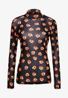 Diane von Furstenberg - REMY - Long sleeved top - black