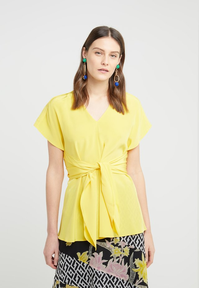 LIZZIE - Blouse - goldenrod