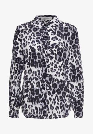 MARIAH - Button-down blouse - snow grey