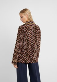 Diane von Furstenberg - HALSEY - Button-down blouse - black/multi - 2