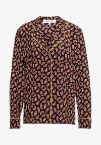 Diane von Furstenberg - HALSEY - Button-down blouse - black/multi - 3