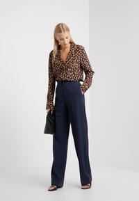 Diane von Furstenberg - HALSEY - Button-down blouse - black/multi - 1