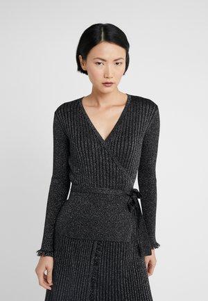 BECK - Stickad tröja - black