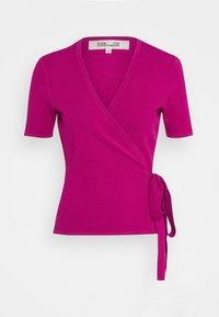Diane von Furstenberg - MIRELLA - Jednoduché triko - empress - 4