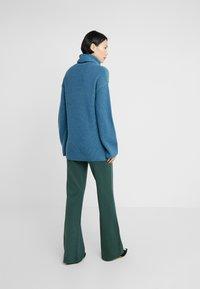 Diane von Furstenberg - EMMANUELLE - Trui - bisman blue / spruce - 2