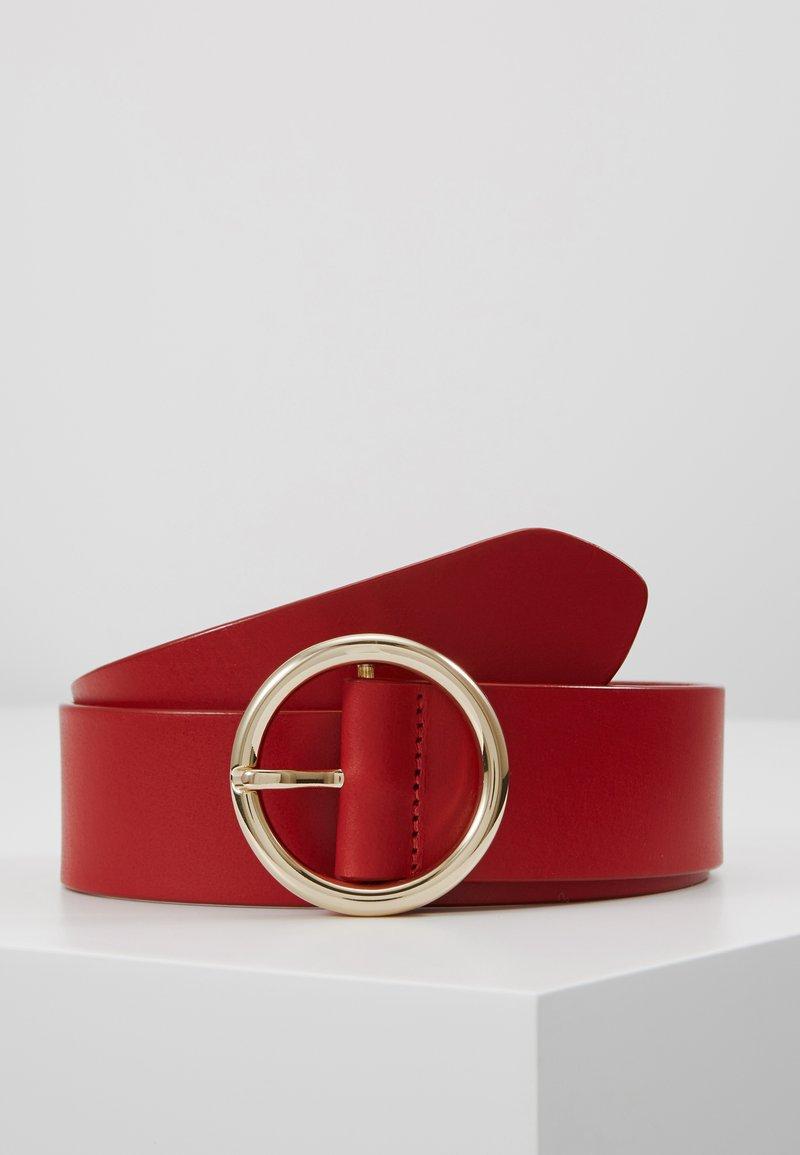 Diane von Furstenberg - O RING BELT - Pásek - aurora red
