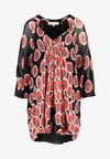 Diane von Furstenberg - FLEURETTE DRESS - Beach accessory - candy red