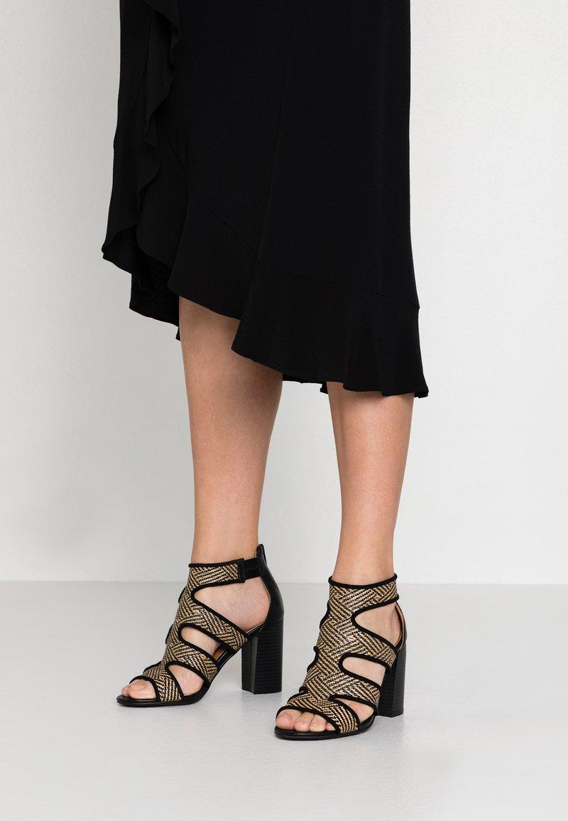 Divine Factory - High Heel Sandalette - black