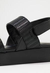 Divine Factory - Platform sandals - black - 2
