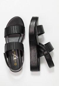 Divine Factory - Platform sandals - black - 3