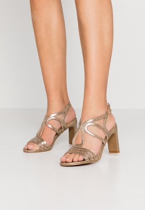 Sandalias de tacón - gold