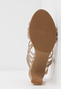 Divine Factory - Sandály na vysokém podpatku - gold - 6