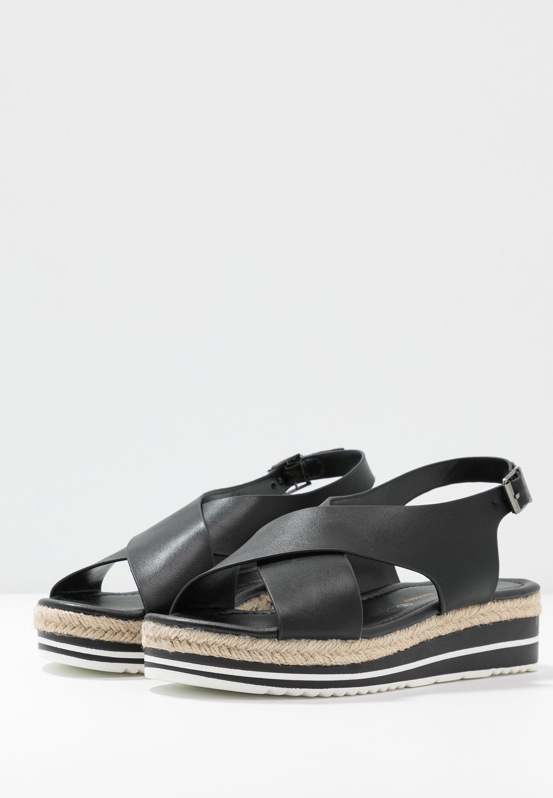 Divine Factory Platform sandals - noir