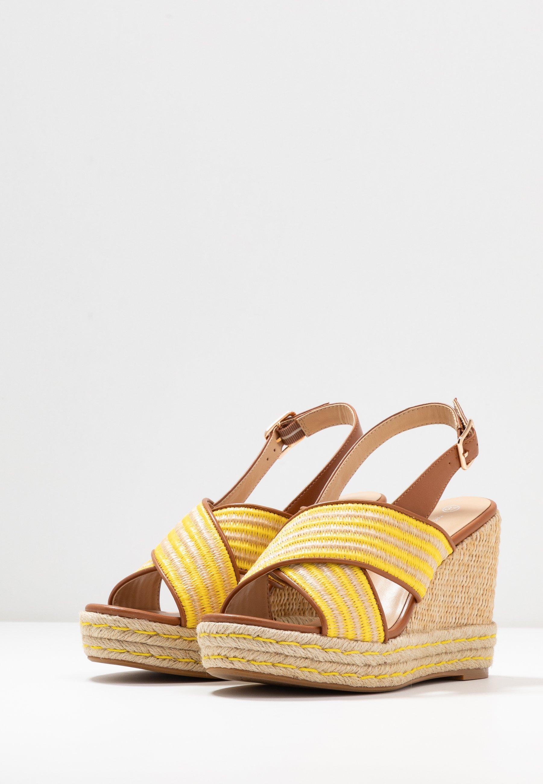 Divine Factory Sandaletter - jaune