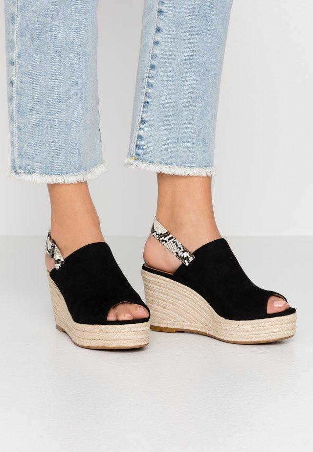 Sandaletter - noir