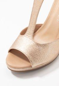 Divine Factory - High heeled sandals - gold - 2