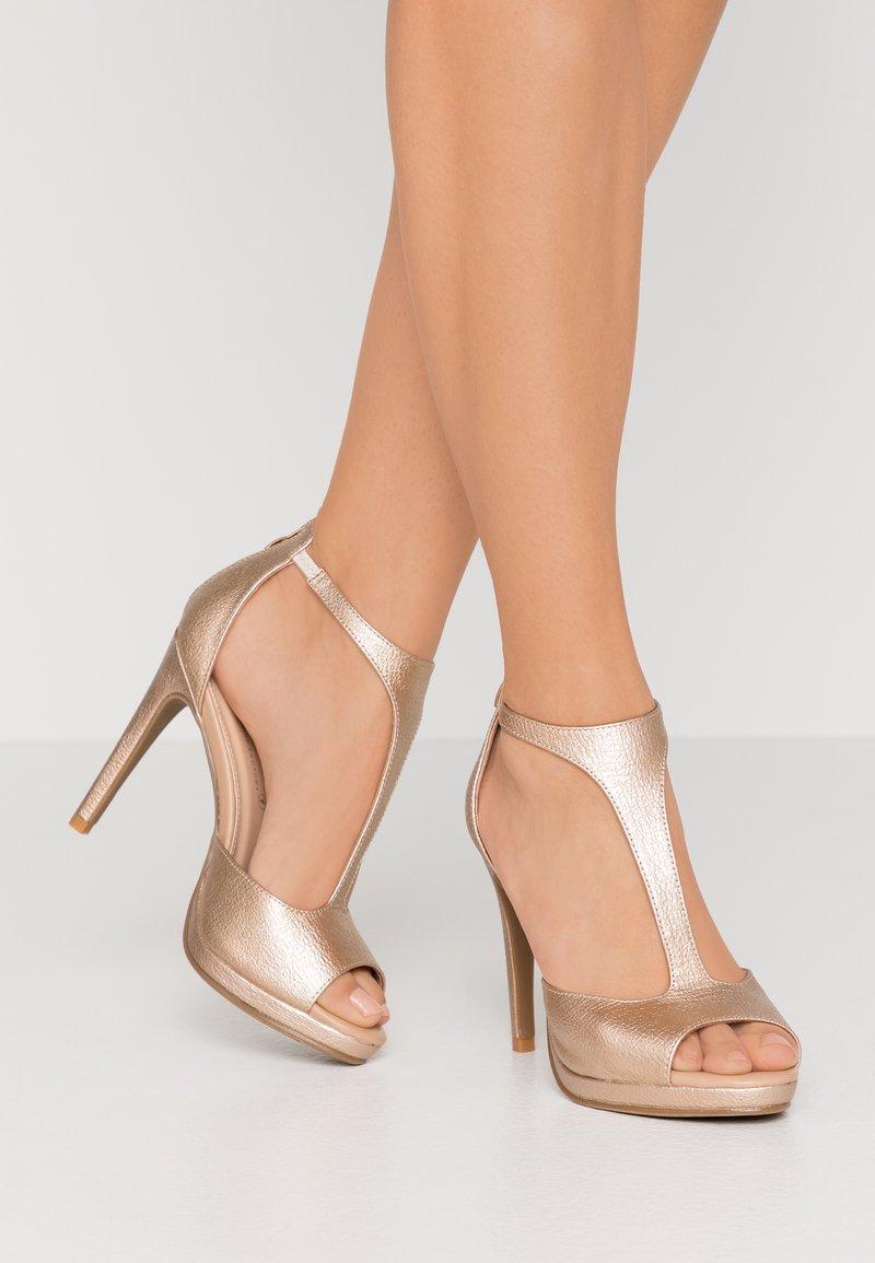 Divine Factory - High heeled sandals - gold